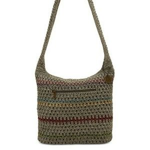 The Sak Amberly Crochet hobo bag